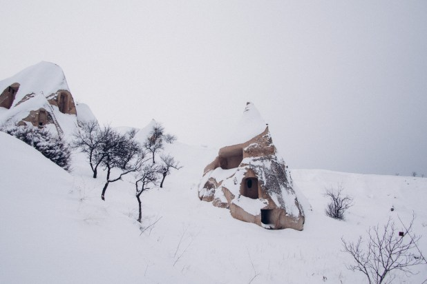 Snowed Covered Hill