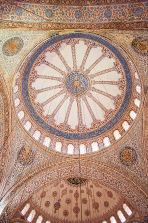 Beautiful Decorations at Sultan Ahmed Mosque