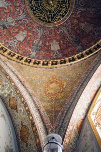 Decorations at Imperial Divan