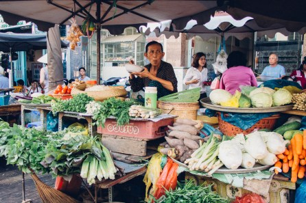 Fresh Vegetable Stall