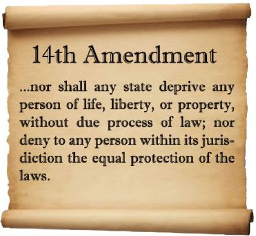 Honoring the 14th Amendment and Equal Protection Under the Law - Free  Speech For People