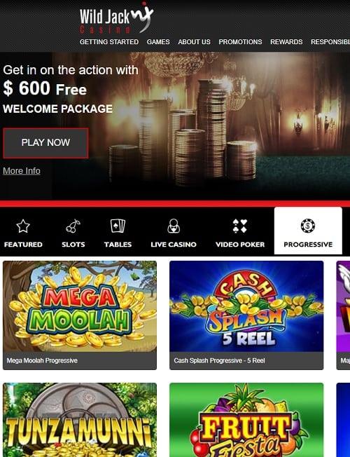 Mobile wild jack casino бездепозитный бонус casino online
