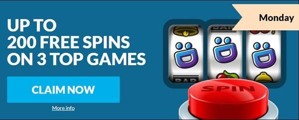 Wild Jackpots 200 free spins