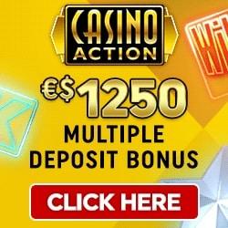 Casino Action   €1250 free play & free spins - no deposit bonus   review