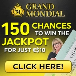Grand Mondial Casino | 150 free spins no deposit bonus | review