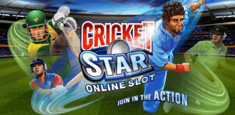 Cricket Star slot game - free spins bonus in Microgaming Casino