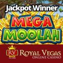 RoyalVegas Casino jackpot winner