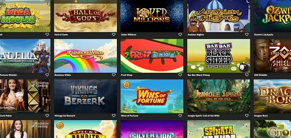 Fastbet Casino online games