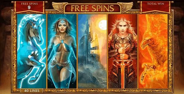 Forbidden Throne free spins bonus