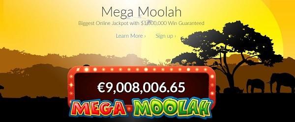 Mega Moolah gratis spins