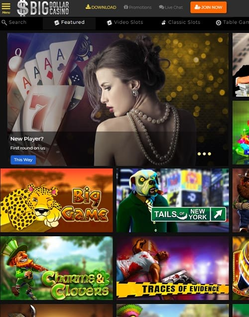 Big Dollar Casino Review