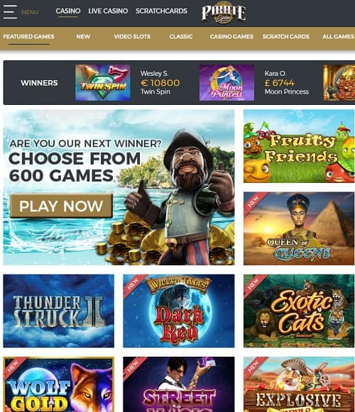 Pirate Spin Casino Overview