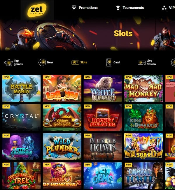 Zet Casino free play