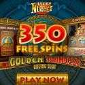 Lucky Nugget Casino $1000 bonus and 350 free spins