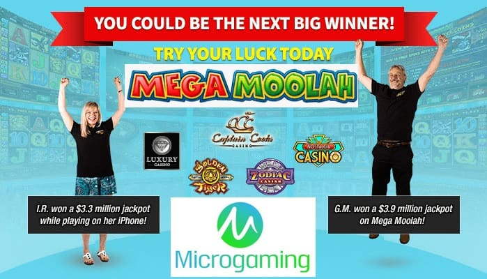 Mega Moolah jackpot winners stories from best Microgaming casinos