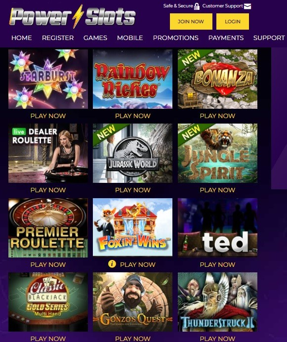 Power Slots Casino Online and Mobile