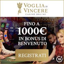 VogliadiVincere.com   €1000 Gratis Welcome Bonus   Review
