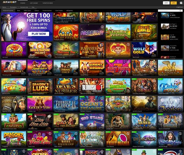 Mr Favorit Casino Full Review