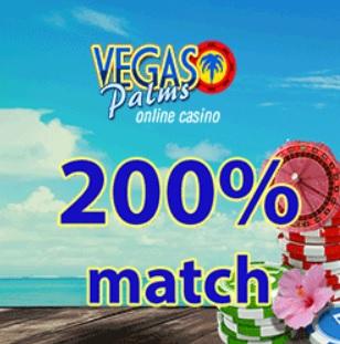 VegasPalms Casino banner