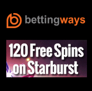 BettingWays Casino | 250 free spins and 500% up to €500 bonus