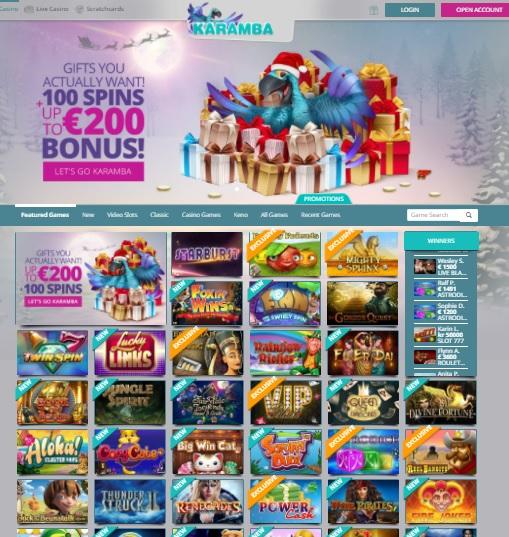 Karamba Casino Online & Mobile Review