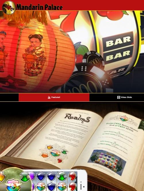 Mandarin Palace Casino - free bonus code for free spins no deposit bonus