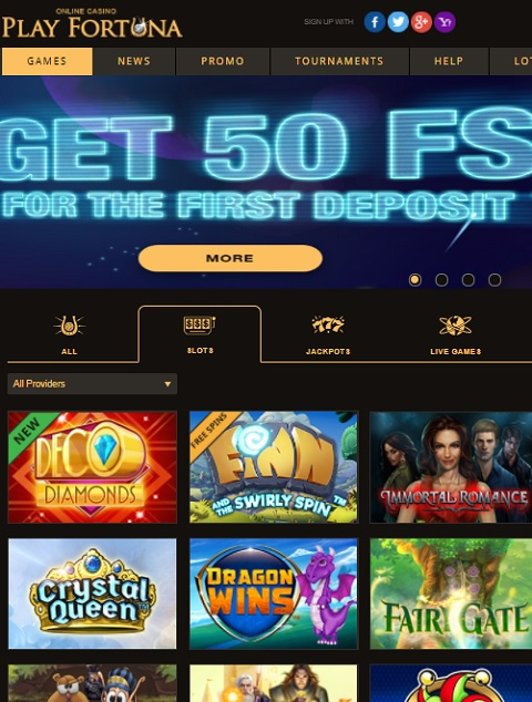 Play Fortune Casino Review