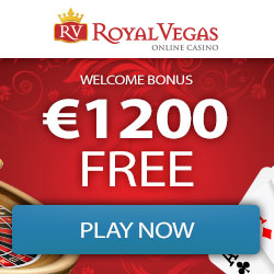 Royal Vegas Casino [register & login] 50 free spins + €1200 bonus