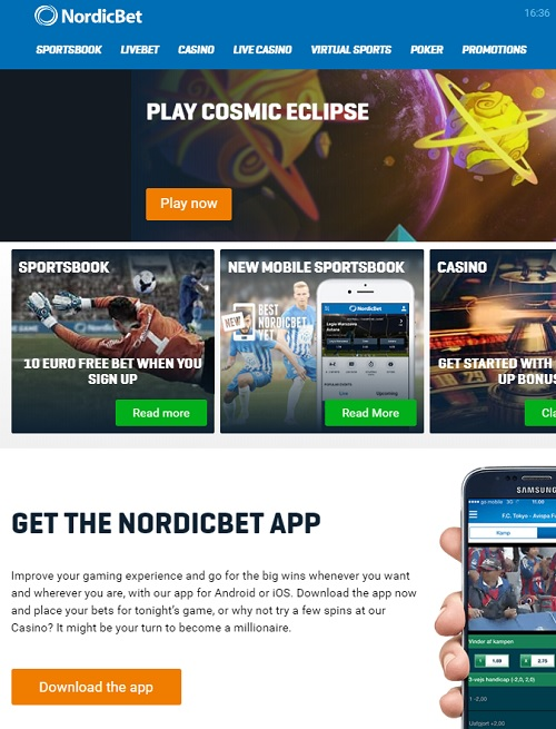 Nordic Bet Casino free spins