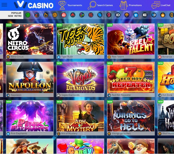 Ivi Casino online and mobile games