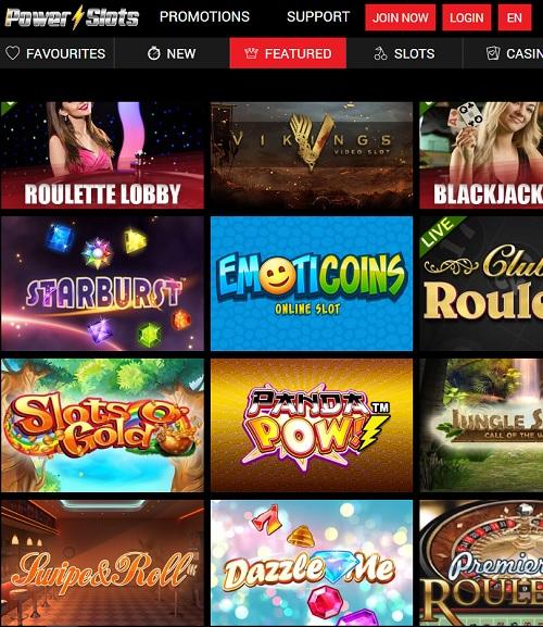 Powerslots Casino free play bonus