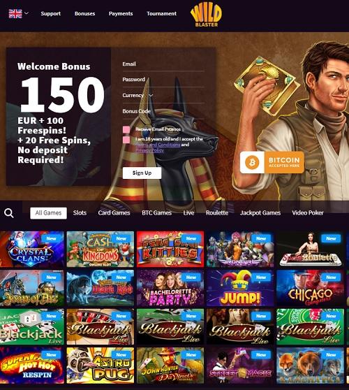 Wildblaster.com Casino Review