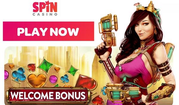 SpinCasino.com €/$1000 welcome bonus