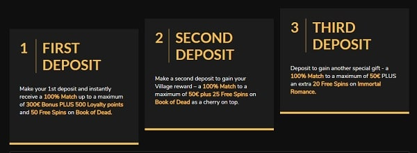 Deposit and Withdraw Money at Jackpot Village Casino