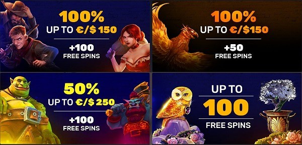 Exclusive Bonuses for new and old players!