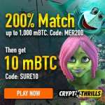 Is Crypto Thrills Casino legit? [Review] 10mBTC free bonus!