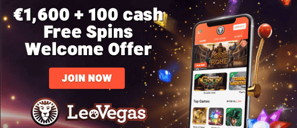 1600 EUR and 120 free spins up for grans for new players