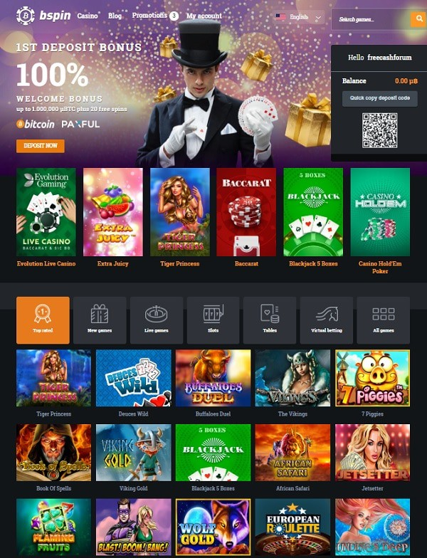 Play the best crypto casino games for free!