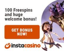 Insta Casino free spins