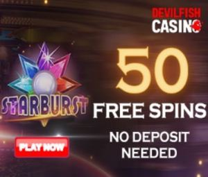 Devil Fish Casino free spins