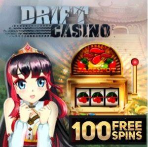 Drift Casino free spins