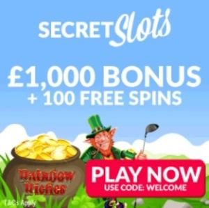 Secret Slots Casino free spins