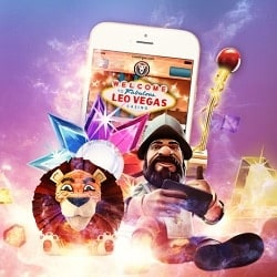 LeoVegas.com 20 free spins no deposit bonus on registration