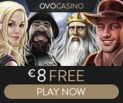 OVO Casino free spins bonus