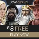 OVO CASINO – €8 free chips + 100% bonus + €1000 gratis