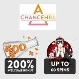 CHANCE HILL - 25 gratis spins and 200% casino bonus - online & mobile