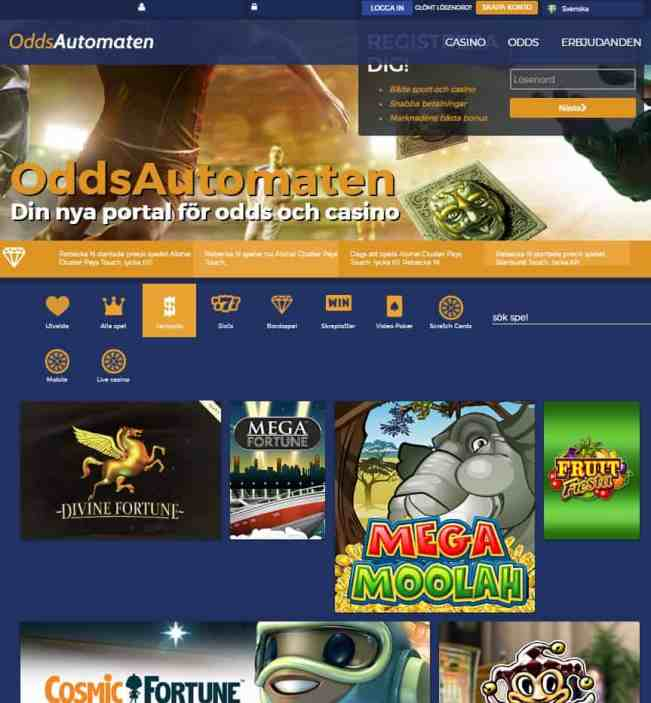 OddsAutomaten Casino Review