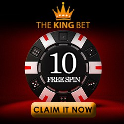 The King Bet Casino banner 250x250