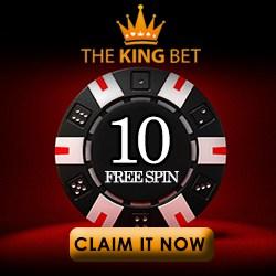 Thekingbet Casino 165 free spins + 150% up to €600 welcome bonus