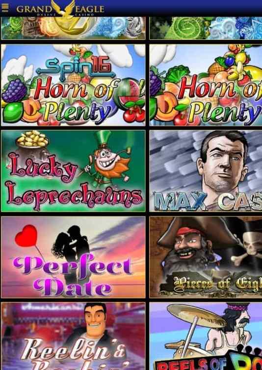 Grand Eagle Casino free bonus code